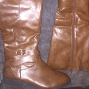 Madixie Cognac Style & co rider boots